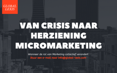 MARKETING 2020: De crisis voorbij