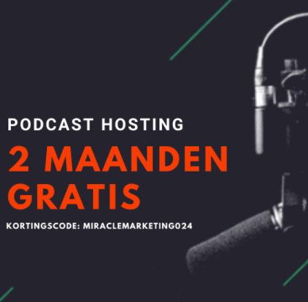 2 maanden gratis podcast hosting springcast en Miracle Marketing Podcast